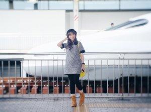 Waiting for my Shinkansen to be ready.. 🚅🚅🚅 lets go to tokiiooo .. .....#pixyasianbeautytrip2017 #pixybeautytrip #pixycosmetics #hisainjapan