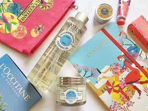 Small haul from loccitane.co.id 🌸 so tempted to try the #SheaButter collection with its natural ingredients,Organic Shea Butter, Cleansing Oil and Light Comforting Cream.Hope it will work great on me as well❣Got a bunch of freebies as gift with minimum purchase.#loccitane #CharlotteGastaut #skincare #clozetteid #clozette #clozettedaily #fdbeauty #femaledailynetwork