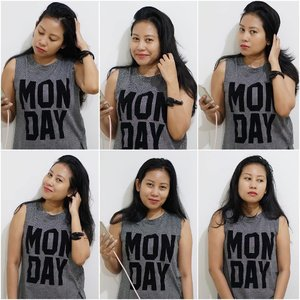 Here's my Monday. How was ur Monday? 😎 .................. #metoday #noedit #nofilter  #monday #mondaymantra #niftyfifty #muscletee #grid #tshirt #tee #clozetteid