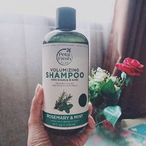 Sampe sekarang belum bisa move on ke shampoo natural / organic karena blum pernah nemu yg nggak bikin lepek. But what about this one? Apakah berhasil nggak bikin lepek? Read my review on this Petal Fresh Rosemary & Mint Shampoo on the blog! 💚 . . . . . . ⠀⠀ #shampooreview #petalfresh #organicshampoo #fdbeauty #haircareroutine #skincareblogger #bbloggers #clozetteid #hairessentials #greenbeauty #beautycommunity
