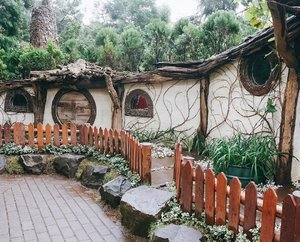 🌲👣I left my heart in middle earth 👣🌲 . . . . . #thehobbit #hobbithouse #hobbitlife