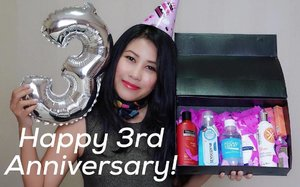 Happy 3rd Anniversary dear Clozette Indonesia ! Wishing you more success and great achievements in the future! Thank you for being our friend and companion as a beauty / fashion community platform where we learned a lot and made new friends. May the future brings more exciting projects and fun opportunities for you, and may you spread your wings even more further dear @clozetteid ❤️❤️ We fully support you! . PS : Thankyou for the lovely gift box as part of your #starclozetter and part of your anniversary celebration! . . PSS : Extra thanks to @tresemmeid @wardahbeauty @ionessence & @SensodyneIndonesia . . . . #ClozetteID #ClozetteDiversi3 #RunwayReadyHair #Ionessence #ColorMeUp #DoveIDN #SensodyneID #indonesianbeautyblogger #bloggerlife #anniversarygift #birthdaywishes #todaysstory #igdaily #beautygram