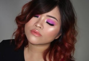 Tutorial for this look on my previous post 💜💜..PRODUCT USED@lagirlindonesia PRO Matte HD Foundation *Medium Beige #lagirl #lagirlcosmetics #lagirlindonesia @juviasplace Douce Eyeshadow Palette #@juviasplace Saharan Blush Palette II #juviasplace @marcbeauty Highliner Gel Eye Crayon *Blacquer #marcbeauty @anastasiabeverlyhills X @amrezy Highlighter #anastasiabeverlyhills #abhxamrezy @urbandecaycosmetics Vice Lipstick *Fuel @fentybeauty Gloss Bomb #fentybeautyBrows @blpbeauty Brow Pencil *brown.Lashes @blpbeauty Poised #blpbeauty
