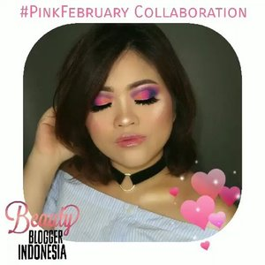 Will you be my valentine? ❤️..This is my #PinkFebruary Collaboration with @beautybloggerindonesia 💝#BBI #BBIpinkfebruary #BeautyBloggerIndonesia