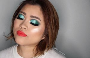 PRODUCT USED . . FACE @maybelline Fit Me foundation #mnyitlook @tartecosmetics Shape Tape Concealer #tarteskin . . EYES @morphebrushes x @jaclynhill palette #MorpheXJaclynHill Eyeliner @maybelline Eyestudio Hypersharp Wing Liner #maybellineindonesia . . CHEEKS @nars Liquid Blush *Orgasm  @ofracosmetics #OFRAXNikkieTutorials  @marcbeauty O! Mega Bronze Coconut Perfect Tan #marcjacobsbeauty #coconutglow . . . LIPS @limecrimemakeup True Love . . Lashes @lashylicious *Lustylicious #lashylicious Lens @cosmodesg Mini Pony *Gray