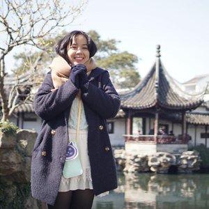 Me when seeing.... (caption this)Calling those who claim to know me too well 😂#clozetteid #winter #minioninchina #miniongoestochina #explorechina #suzhou #utotiatravel