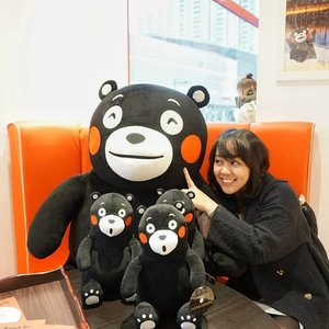 When in China, I just went anywhere others said. The only place that I specifically requested to my friends is: Kuma Cafe. Yep it's Kumamon's theme cafe fully decorated with clumsy mascot of Kumamoto Prefecture.  Now, shall we go and visit the land of Kumamon? @jeanmilka @angelinechiba @vheii @i_stari  #kodekeras #ayokejepang2017  #travel #traveldiary #miniongoestochina #miniontrip #minioninshanghai #clozetteid #utotiatravel #photooftheday #picoftheday #potd #bestoftheday #selfportrait #kawaii #ulzzang #kumamon #kumacafe #china #shanghai #follow4follow #like4like #instastyle #bloggerstyle #sougofollow