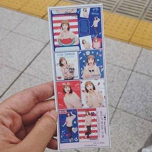 My very first purikura 😻 #vscocam #travel #japan #tokyo #harajuku #takeshita #takeshitastreet #takeshitadori #utotia #purikura #kawaiibeautyjapan #clozetteid