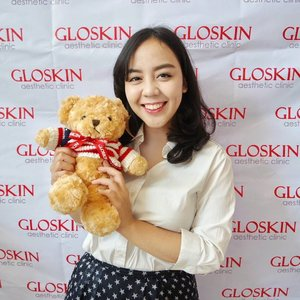 Meet this cute bear at @gloskin_clinic #beautybloggergloskin gathering with other fellow #beautyblogger  Learn a lot about skin care, treatment, and procedures available there.  Excited with the PRP & dermal filler 😆  #clozetteid #photooftheday #picoftheday #potd #selfportrait #beautybloggerid #instastyle #bloggerstyle #bloggerevent #follow4follow #like4like #sougofollow