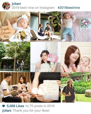 2019 has been a journey...All the best moments... In His way, baby K showed up. All the mixed feeling from happy to tired to happy all over again.Being a mom isn't easy. No nanny, no maid, working at home, doing everything at once is tiring yet challenging. Learned so much and something new everyday, but I found an endless love whenever I see u 👶🏻. Let's welcome 2020 and fight more because yes! We can!#2020 #happynewyear #Clozetteid #BESTOF2019
