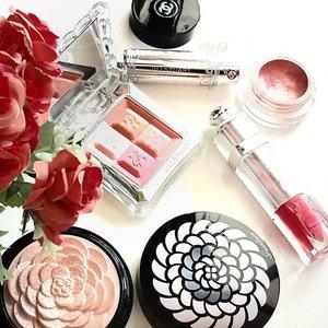 Today random picks 💞💕 #MOTD #POTD #makeupjunkie #makeup #Guerlain #JillStuart #Dior #Chanel #like #love #tagsforlikes #weheartit #tumblr #FDbeauty #femaledaily #clozette #clozetteco #clozetteid