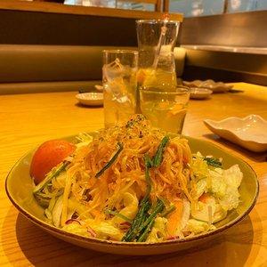Yum.  #konnyaku #salad #igfood #clozetteID