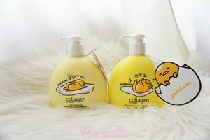 Who love these mischievous egg by Sanrio? Looks like Gudetama is getting more raves in beauty products.  http://whileyouonearth.blogspot.co.id/2017/11/collagen-by-watson-gudetama-body-lotion.html?m=1  #sanrio #bodylotion #beautybloggerindonesia #beautyblogger  #blogger #review #watson #clozetteid #moisturizing
