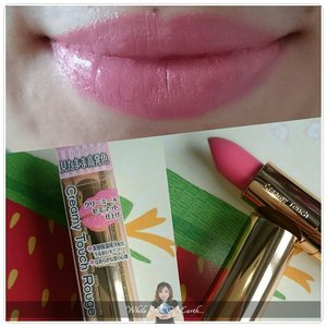 A super duper kawaii lipstick from @canmakejapan that gives the lips a creamy look with pon pon 😍 http://whileyouonearth.blogspot.com/2014/12/canmake-marshmallow-pink-creamy-touch.html?m=1  #lipstick #lips #motd #beautybloggerindo #beauty #beautyblogger #idbblogger #clozetteid #canmake #ig #instagram #instabeauty #instadaily #makeup #cosmetic #japanbeautyproduct #japan #tokyo #lippie
