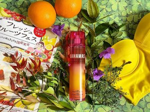 #WeekendMoodBiar kita gak bisa liburan, paling engga, we smelled like we're on a holiday with @bathandbodyworks_id #Bahamas Passion Fruit & Banana Flower.Review at:https://youtu.be/XCPOK7GfDHM#beachvibes #bathandbodyworks #smellsyummy #clozetteID #loveit #pineapplescent #goingbananas #freshfruits #freshscents #scentreview