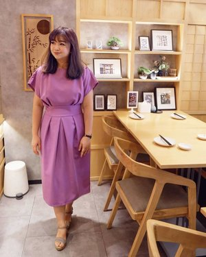 Sunday is family time, yang biasanya pada sibuk kerja, sekolah, dsb, semoga hari Minggu bisa pada ngumpul ya dan have a good quality time.  Wearing a purple lilac tulip dress by  @closet_london  _________ #beauty #carnellinstyle #love #shoes  #motd #lotd #ootd #photooftheday #photography #lookoftheday #outfit #outfioftheday #outfitinspo #lookbook #style #styleoftheday #ClozetteID #closetlondon  #purpledress  #dressoftheday #colors #igbeauty