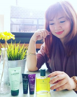 Probably the best scalp care series. 💗 @renefurterer_id #clozetteid #renefurterer #scalpcare #beautybloggerindonesia #beautyblogger #hairtonic #best