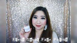 @freshbeauty Sugar Face Polish yang super nyaman, lembut, alami dan aromanya sih enak banget. Buat kulit sensitif dan kering pun bisa banget.  Full video at https://youtu.be/C8kYSjLIR6g  Di IG hanya teasernya aja yah.  #freshbeauty #Clozetteid #love #BeautyVloggerIndonesia #bblogger #beautyvlogger #naturalskincare #naturalscrub #sugarscrub #musttry #facescrub #skincare #review #videooftheday #video #beauty #strawberry