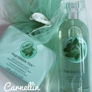 @thebodyshopusa @thebodyshopindo Fuji Green Tea  http://whileyouonearth.blogspot.com/2015/06/the-body-shop-fuji-green-tea.html?m=1 🌱🛁🛀🍵 #clozetteid #beauty #blogger #tbs #thebodyshop #Fuji #greentea #toiletries #eaudecologne #scrub #bodycare