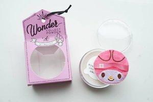 Powdernya sih biasa aja, oke lah tapi masih dalam kategori biasa,  puff itu yg bikin gemes, sayang kalo dipake.  #powder #sanrio #mymelody #sanriox #love #makeup #Japan #clozetteID #blogger #Japanbeauty #loosepowder #cosmetic