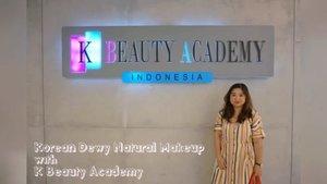 A new video is up, collaborating with @kbeautyacademy_indonesia  for a dewy natural Korean look yang always in trend, full video di: https://youtu.be/plrzHDvaDgk  Buat yang penasaran dan butuh informasi lebih lengkap mengenai belajar makeup bersama Florencia atau trend kecantikan lainnya (nails, hair, to microblading) bisa email ke  kbeautyacademy.ind@gmail.com  #kbeautyacademy #kbeautyacademyid #koreanacademy #kbeautyacademy_indonesia  #beauty #Koreanbeauty #belajarmakeup #koreanmakeup #belajarnailart #microblading  #cantik #lesmakeup #nailartkorea #Jakarta #Clozetteid #tipsmakeup