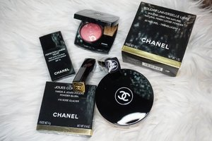 They are glistening.. @chanel.beauty  #chanel #makeup #beauty #blush #foundation #powder #love #clozetteID #lipstick #Paris #France #luxury
