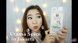 Seru sendiri nemu produk @utamaspice yang 1L, 5 L, karena it means less waste, less trip to the shop dan bahkan mereka ada DIY skincare dan refill station. You must visit them at @plazaindonesia lokasi dekat resto Kitchenette.  Video ada di https://youtu.be/IUH546C9064  _______  #love #utamaspice #musttry #recycle #greenskincare #environmentfriendly #recommended #diy #Clozetteid #diyskincare #naturalskincare #naturalsoap #naturalproducts #essentialoil #Bali  #BeautyVloggerIndonesia #beautyvlogger