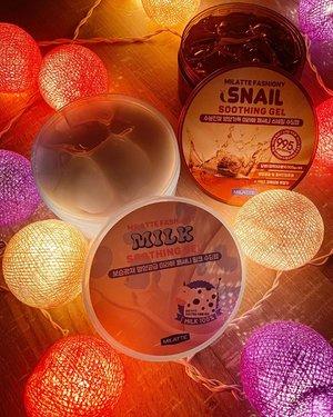 #MilatteFashiony sekarang udah ada di @hicharis_official dan harga yang friendly banget. Sekitar 80rb an, dengan variant Aloe vera, milk atau susu dan snail gel. Aku cobain yang Milk dan Snail Gel.  Review lengkapnya di https://youtu.be/0_tjpKWFI2o dalam bahasa Indonesia.  Buat yang mau beli bisa ke hicharis.net/Carnellin/JQQ local shipping ya alias pengiriman dari Jakarta (horeeee ga pake mahal). #milatte #fashiony #soothinggel #charis #hicharis @charis_celeb #love #gel #lights #beauty #igstyle #photography #photooftheday #gels #clozetteID #lovely #moistskin #kulitlembab #kulitsehat #susu #snailgel #beautyproduct #styleinspo #styledaily
