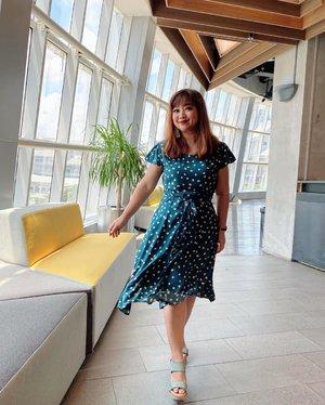 Ekspresi Jumat.#igstyle #dressup #dressoftheday #greendress #hello #clozetteID #beauty #igbeauty #photo #potd #photography #photooftheday #Jakarta #styleinspo #stylish #hairoftheday #lookoftheday #lotd #motd #princesshighway
