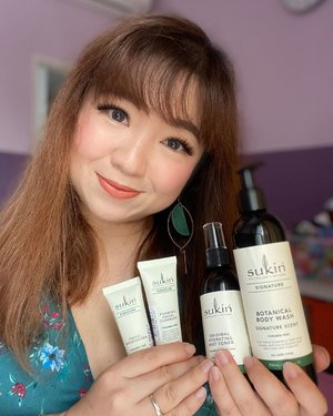 Done a quick review on #sukin @sustainablebeautyid on my IG story today. Love these babies as they are so gentle and kind to the skin.  Buat kamu yang pengen cobain, @sociolla lagi ada promo utk produk-produk @sukinskincare di websitenya. See you there.  #nothingbutspecial #kindnesstoshare #igbeauty #beauty #instadaily #igdaily #healthyskin #beautyinfluencer #beautybloggers #moisturizer #toner #cleanskin #healthyskin #gentle #clozetteID #socobox #cleanser #naturalingredients