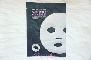 Masker lucu dengan tekstur unik 😍  #naturerepublic #bubblemask #facemask #skincare #cleanskin #clozetteid #bbloger