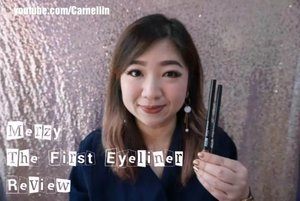 Lovely gel eyeliner review  Full review here; https://youtu.be/aTX47njduws  Can be bought at: Merzy The First Gel Eyeliner https://hicharis.net/carnellin/bxE  #Merzy #TheFirstgelEyeliner #charisceleb @hicharis_official @merzy_official  #review #beautyvloggerindonesia #BeautyBloggerIndonesia #beautyvlogger #honestreview #clozetteID #waterproof #eyeliner #makeup #sale #promotion #discount