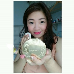 Using @canmakeid Marshmallow Finish Powder in MB. Natural fluffy bunny looking skin.@canmake_official @canmakejapan @canmake_malaysia @canmakeph @canmakehk #clozetteid #beautyblogger #motd #finishpowder #canmake #lotd #powder #compact