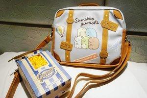 Love at first sight. #sumikkogurashi #bag #shoulderbag #collection #clozetteID #collectibles #garret #kinokuniya #popcorn