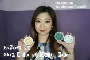 Beauty Balm, Skin Balm, or Multi Balm review. An all in one product perfect for traveling or life on the go.  Handy, compact and providing moisture to many part of the body... and hair.  Full video here: https://youtu.be/JU8F-GQfEO4  #beautybalm #skinbalm #multibalm #balm #hokkaidookhotsk #okhotsk ##alivivi #Japan #vlogger #vloggerindonesia #beauty #beautyproduct #beautyvloggerindonesia #beautyvlogger #travel #skincare #traveltips #clozetteID #haircare #vlog #moistskin #moisturizer