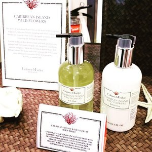 A beautiful collection from @crabtreeandevelyn called Caribbean Island Wild Flowers. A unisex scent love by all.http://whileyouonearth.blogspot.com/2015/06/crabtree-evelyn-caribbean-island-wild.html?m=1#clozetteid #beauty #bloggers #crabtreeandevelyn #toiletries #bodywash #bodylotion #beauty #review #flowers #edt #scent #fragrance