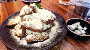 Cheezzzuuuuu 😍  #foodies #foodlover #goobne #Clozetteid #foodlover #friedchicken #love #ovenroasted #yums