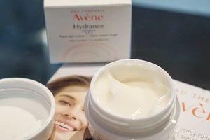 The newest baby from @eauthermaleavenefrance Called Hydrance Optimale Aqua Cream in Gel.  ___________ @eauthermaleaveneindonesia  @clozetteid :  #Clozetteid #AvenexGuardian #AveneHydrance ##Longlastinghydration#AveneIndonesia #AvenexClozetteID  #beautyproduct #beautybloggerIndonesia #musttry #love
