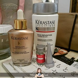 My third week journey with @kerastaseidhttp://whileyouonearth.blogspot.com/2015/03/kerastase-42-days-hair-loss-program.html?m=1#beauty #blogger #bloggersays #scalp #roots #haircare #hairgrow #hairgrowth #clozetteID #kerastase