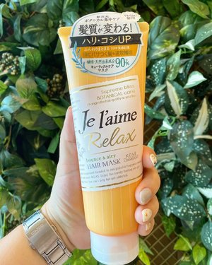 Hair treatment from @kosecosmeportid Je l'aime relax bounce & airy review is up on my youtube.com/Carnellinhttps://youtu.be/_A47kR2JPDAThe fragrance is amazing and the hair looks healthier too. #igreview #igbeauty #kose #jelaimerelax #hairtreatment #haircare #beauty #clozetteID #potd #lotd #product #beautyproduct #love #Japanbeauty