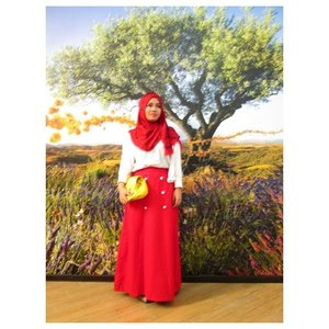 Happy Independence day Indonesia, I'm pround to be Indonesian #Clozetteid #MerahPutih #ootd #red #white #instadaily #instabeauty #beautyblogger #indonesianbeautyblogger #independeceday