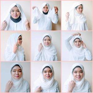 TIPS & TUTORIAL HIJAB BUAT PEMULA..2 hari lebaran, apa besok sih lebarannya? 😁Soalnya ada yang bilang besok lebarannyaMau besok atau lusa, mari berkreasi hijab yuk ahhTutorial hijab yang simple banget nget nget. Ini khusus buat pemula kayak aku 😗Waktu pertama kali aku berhijab model yang aku pakai kayak gini 😚Trus aku mau sharing aja, siapa tau ada diantara kamu yang mau berhijab trus bingung gimana2nya :1. Hijabnya bisa pilih bahan voal polos atau motif. Bisa juga pilih merk Saudia, ini bisa kamu temukan dimana2. Harganya juga murce. Coba cari deh di shopee >> ecommerce andalan aku ini 👍🏻..2. Pilih yang motif polosan aja, karena kalau yang bermotif takut susah mix and match sama bajunya, secara pemula kan bajunya minim banget3. Sebaiknya jangan pilih bahan yang poly cotton,  lebih mudah bahan voal atau saudia, karena lebih cepat nyegrak, eh apa sih bahasanya 😁 maksudnya tegak lurus itu loh4. Beli ciput jangan lupa. Warna netral aja, hitam, putih. Karena kalo gak pakai ciput buat pemula, bisa sejam otak atiknya, pegel! 😃Kalo udah terbiasa gak pakai ciput mah cepet5. Koleksi juga hijab instan. Biar variasi. Ada kalanya kita butuh pakai yang cepet, misalnya kalau ada tamu ke rumah kan? Atau mau berangkat kerja misalnya 😚Cari dimana hijab instannya? Di shopee banyaak. Mulai dari yang 16ribuan sampai 200ribuan 😗..#ClozetteID#tutorialhijab #hijabstyle#hijab #HijabSquare #FashionHijab