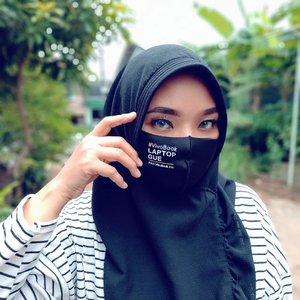 Make Up Of The Day buat ke tukang sayur and beli takjil 😘 Gak usah pake lipstik karena gak bakalan keliatan 😊  Thanks to @asusid for the scuba mask ❤️ . . #skincareobsessed #ClozetteID #photooftheday #iloveskincare #selfcare  #skincareobsessed #hijabstyle #beautyproducts #makeupjunkie #instabeauty #healthyskin  #wakeupandmakeup #beautystuff #glow #beautytips #beauty #eyesmakeup #eyelashes #asusaja #motd #makeuplook
