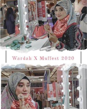 Wardah hadir di event @muslimfashionfestival yang diselenggarakan di JCC. Banyak promo menarik yang ditawarkan @wardahbeauty tidak lupa aku membeli cushion paling the best dari wardah yang aku coba. Ini moment pas makeover di booth Wardah, kalian bisa mampir ke Muffest karena Hari ini terakhir. Let's go beb ke Muffest 2020 jangan lupa mampir ke booth Wardah  #2020 #adobelightroom #tonekillers #preset #igotd #FullSpeedFlagship #DareToLeap #clozetteid