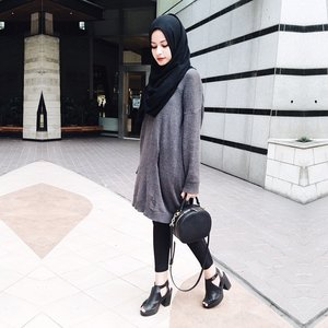 Grey and black mood.Have a great day guys ! 💀 #ClozetteID #Itssoyou #GoDiscover