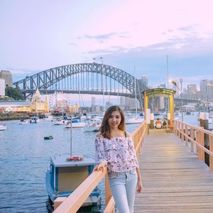 """A Sunday well spent brings a week of content."" #SundayMood . .  This place definitely become my favorite place in Sydney 🇦🇺 What's yours??? . . . . . #instaphoto #igers #potd #instalife #igtravel #travelinglady #iamtb #fashion #style #sunday #ootd #wiwt #somethingborrowed #lookbook #ClozetteID #sydneylife #sydneyblog #harbourbridge #lunapark #summerday #likes #follow #blogger #fashionblog #wanderlust #lifewelltravelled #travelblogger #StellangelitaInOz"