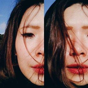 Flicked eyeliner. Smudged red lips. Messy hair. Ok. #face #faceoftheday #fotd #makeup #makeupjunkie #makeupaddict #makeupoftheday #MOTD #clozetteid #clozetteco #clozette #fdbeauty #femaledaily #femaledailynetwork #vsco #vscobeauty #vscolove #vscogood #instagood #self #selfie #vscocam #lips #lipstickaddict #eyeliner #eye #instadaily #selfportrait