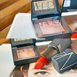 Nars Fall 2015, the Pasiphae eyeshadow and VIP Red lipstick. Look at the magical shade of Pasiphae, it reflects a different shade!!! ✨✨✨ #nars #NARScosmetics #makeupjunkie #makeupaddict #makeup #cosmetic #cosmetics #beauty #fdbeauty #beautyjunkie #beautyaddict #femaledaily #femaledailynetwork #fotor #instadaily #instabeauty #faceoftheday #makeupoftheday #MOTD #clozetteid #clozette #clozetteco #mua