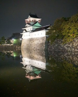 You can't avoid to visit a castle in Japan. . . . . . #castle #japancastle #toyamacastle #japan #wheninjapan #reflection #travel #travelgram #instatravel #nightphotography #sonyalpha #sonyforher #whpreflections #clozetteid