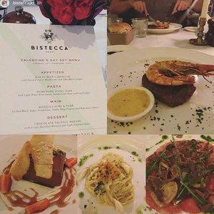 Our Valentine's day menu yesterday @bistecca.jkt #valentines  #valentineday  #foodie #foodporn #finedining #clozetteid #clozetteambassador